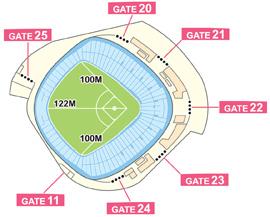 面積 東京 ドーム 5大ドーム比較してみた